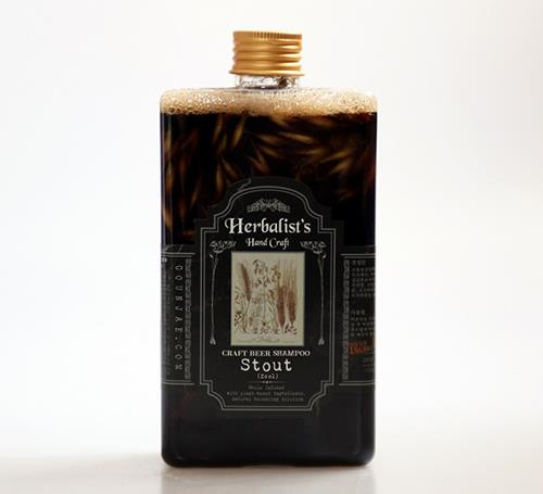 Herbalist's Craft Beer Shampoo Stout cool