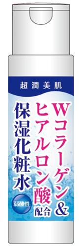 Moisturizing lotion containing W collagen & hyaluronic acid